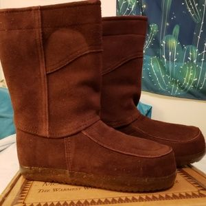 Steger Mukluks Winter Boots in Chocolate